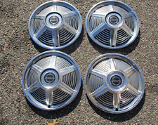 Factory 1965 Ford Mustang 14 inch hubcaps wheel covers