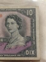 ➡➡1954 $10 BILL NOTE BC-32b DEVILS FACE CANADA I/D 5251940