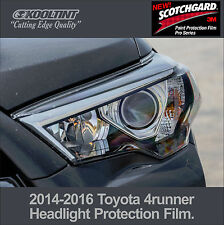 Headlight Protection Film by 3M for 2014-2016 Toyota 4runner