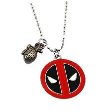 Deadpool Fashion Novelty Pendant Necklace Movie Comic Series