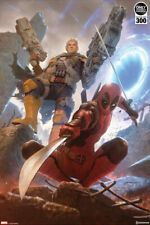 Sideshow Exclusive Marvel DEADPOOL and CABLE Premium Giclee Art Print #252/300