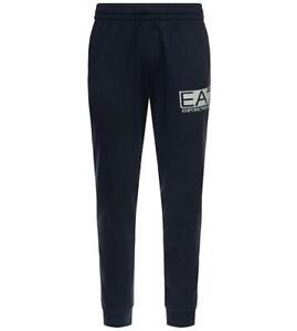 EA7 Emporio Armani 7 - Pantaloni Uomo Blu Tuta Logo