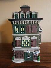Dept 56 Dickens Village - The Flat of Ebenezer Scrooge - Christmas Carol - 1989
