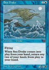 [1x] Sea Drake [x1] Portal Second Age Slight Play, English -BFG- MTG Magic