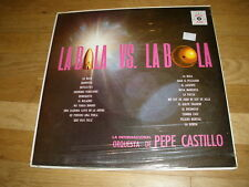 PEPE CASTILLO la bala vs la bola LP Record - sealed