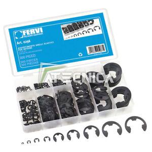 Assortment Kit 300 Anelli Elastic Outdoor Fervi 0296 IN Oraganizer Plasti