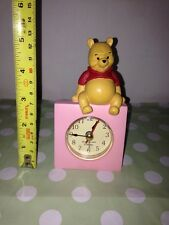 Small WINNIE THE POOH Disney Children's Quartz Alarm Clock