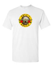 Guns N Roses Bullet Logo T-Shirt Rock Heavy Metal t shirt Pistol Classic Logo.