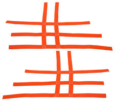 Raptor  350 660    Nerf Bar Nets   Fits Alba Racing Tusk  Orange A