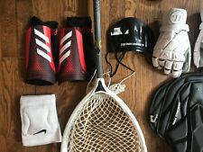 New listing Youth Lacrosse Goalie Gear, Stick, Gloves, Chest Pad (Nemesis By Warrior)