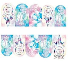 Nail Art Sticker Water Decal Transfer Beatles Some May Say I'm A Dreamer (DB312)