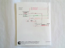 Cummins QSM11 with CM876 Control Module Power Generation Wiring Diagram