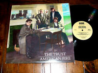 The Trust - American Fire 1987 LP DDM Records 22858 Vinyl 1st Pressing NM/VG+