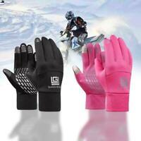 Women Men Sports Windproof Waterproof Thermal Warm Winter Gloves Mittens J9C7