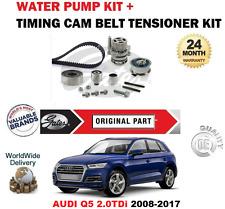 FOR AUDI Q5 2.0 TDi QUATTRO 2008-2017 TIMING CAM BELT KIT and WATER PUMP SET