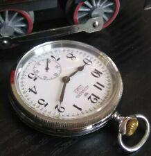 Antico orologio da tasca Audix Watch ferrovie dello stato FS funzionante