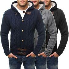 Herren-Pullover mit regular Länge und Knöpfen aus Acryl