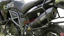 SILENCIEUX ARROW RACE-TECH INOX DARK BMW F800 GS / ADVENTURE 2008/16 - 72612AKN