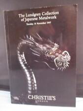 Christie's Lundgren Collection of Japanese Metalwork Tsuba Swords Blades Fitting