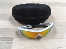 Oakley Radar PATH Occhiali Da Sole, Montatura Bianca, Lenti Red Iridium