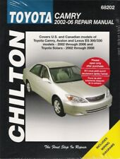 2002-2006 Toyota Camry 02-08 Solara Chilton Repair Service Workshop Manual 028X