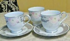 Vtg Noritake Japan Autumn Rhapsody China  2 Saucers ,3 Cups