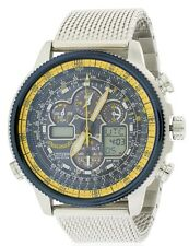 Citizen Eco-Drive Navihawk A-T Chronograph Perpetual Mens Watch JY8031-56L