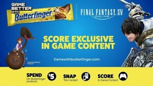 Chocorpokkur Final Fantasy XIV 14 Butterfinger Promo Mount - Fast Delivery