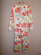 Valerie Stevens Petites Size PS Multi-Color Floral Jacket and Capri Pants NWOT