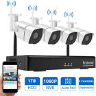 Firstend 8CH NVR with 1TB Hard Drive 4*2MP cameras Security Camera System set