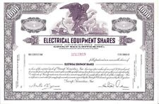 GROUP SECURITIES INC(ELECTRICAL EQUIPMENT SHARES)