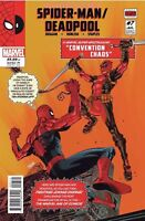 SPIDER-MAN DEADPOOL #7 COVER A  1ST PRINT  2016 MARVEL COMICS