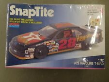 Monogram Snaptite 1/32 Scale 1992 Davey Allison #28 Havoline Ford T-Bird Sealed