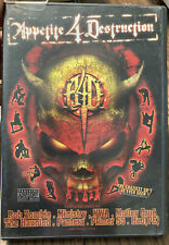 APPETITE 4 DESTRUCTION Extreme Sports & Music Skateboarding BMX Rob Zombie NWA