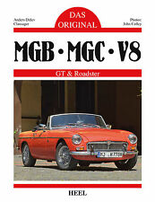 MGB MGC GT V8 - Das Original (MG B C GTV8 Roadster Daten Farben) Buch book