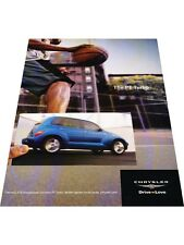 2003 Chrysler PT Cruiser Turbo 2-page Vintage Advertisement Print Car Ad J428
