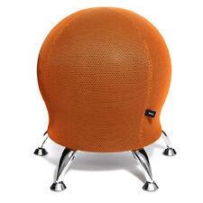 Hocker Sitzball SchreibtischStuhl Rückentrainer Topstar Sitness 5 orange B-Ware