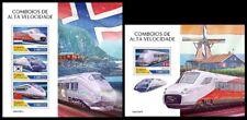 Guinea Bissau 2020 Speed trains. (307)