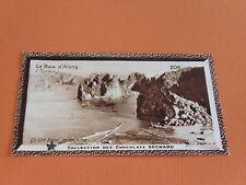 CHROMO PHOTO CHOCOLAT SUCHARD 1930 COLONIES INDOCHINE TONKIN BAIE D'ALONG