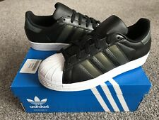 New Adidas Leathers Upper Sports Trainers NEO DERBY SET K  Boys Girls  White
