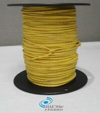 18 AWG UL1015 MACHINE TOOL WIRE - YELLOW - 500 FEET