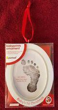 Nib Pearhead Baby's 1st Christmas Babyprints Photo Keepsake Ornament Kit