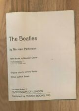 "1964 ""The Beatles"" 178-202 B&W Pocket Books By Norman Parkinson"