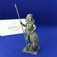 Greece Myths Hercules with the Skin of a Lion 1/32 Scale Unpainted Tin Figure