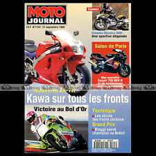 MOTO JOURNAL N°1197 BIMOTA MANTRA MICKAEL PICHON BOL D'OR GRAND PRIX BRESIL 1995