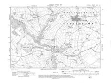 Old map of Callington 1907 - Cornwall, repro Corn-29-SW