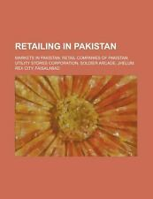 Retailing in Pakistan: Department Stores of Pakistan, Markets in Karachi, Market