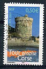 TIMBRE FRANCE OBLITERE N° 3598 TOUR GENOISE CORSE / Photo non contractuelle
