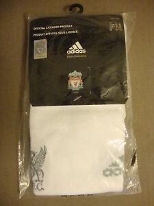 Liverpool 2010-11 Home Change Goalkeeper Socks Adidas BNWT (Childs UK13.5-2)