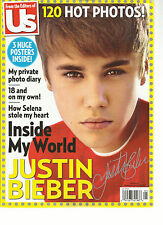 FROM THE EDITORS OF US, 2012 ( INSIDE MY WORLD JUSTIN BIBER ) 120 HOT PHOTOS !